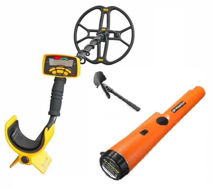 Металлоискатель грунтово водный Discovery MD6350 + лопата и GP pointer