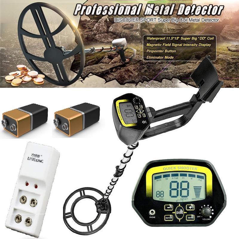 Металлоискатель Discovery Tracker MD-4060 c аккумуляторами и зарядным устройством