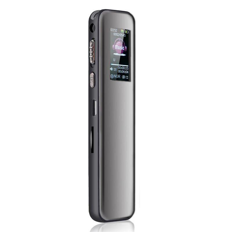 Диктофон цифровой Savetek GS-R60 8 Гб с активацией голосом Черный