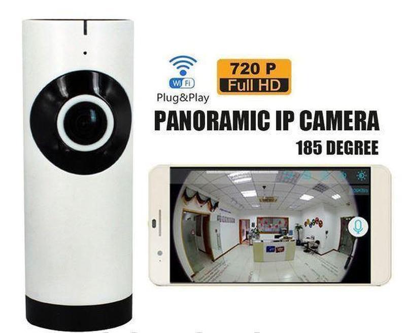 Панорамная беспроводная IP камера HLV FV-1201 настольная